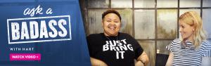 Elizabeth Banks Whohaha-Ask a Badass Hart