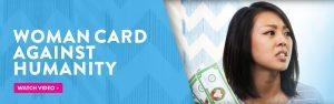 Elizabeth Banks Whohaha-Woman Card Against Humanity