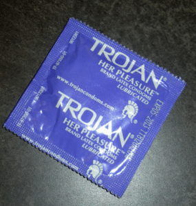 Elizabeth Banks' Whohaha-Trojan Condom