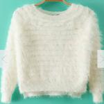 Elizabeth Banks' Whohaha-Fuzzy Sweater