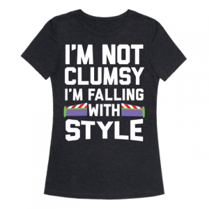 Elizabeth Banks Whohaha-Clumsy T Shirt