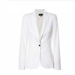 Elizabeth Banks' Whohaha-White Blazer