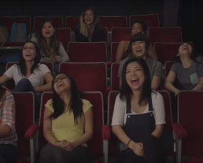 Elizabeth Banks' Whohaha-Racist Sexist Improv