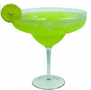 Elizabeth Banks' Whohaha-Margarita Glass