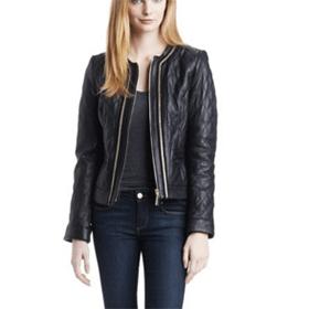 Elizabeth Banks' Whohaha-Leather Jacket