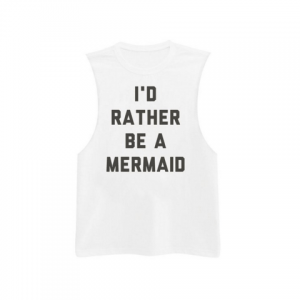 Elizabeth Banks' Whohaha-I'd Rather Be A Mermaid