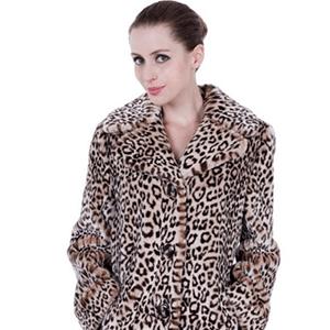 Elizabeth Banks Whohaha-Leopard Coat