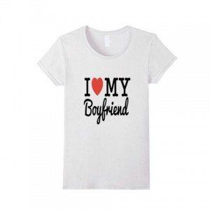 Elizabeth Banks Whohaha-Boyfriend T Shirt