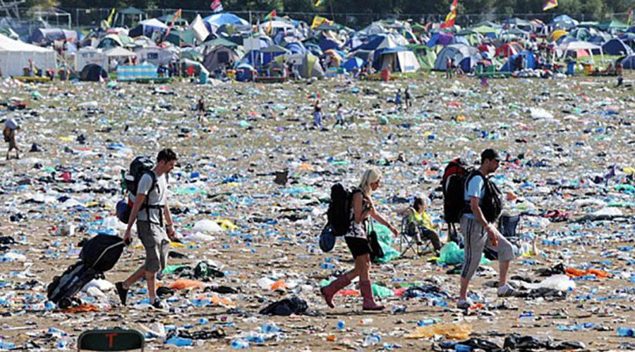 QUIZ: Which Piece of Trash at the Coachella Campground Are You?