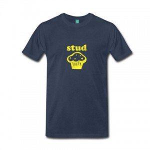 Elizabeth Banks Whohaha-Stud Muffin Shirt
