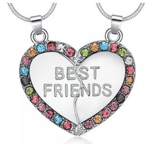 Elizabeth Banks Whohaha-BFF Necklace
