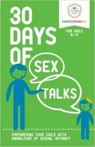 30 Days Of Sex Talks for Age 8-11
