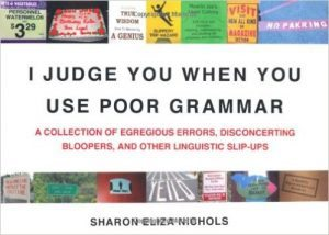 'I Judge You When You Use Poor Grammar' Book