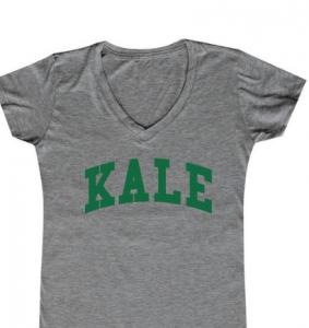 Elizabeth Banks Whohaha-Kale T Shirt