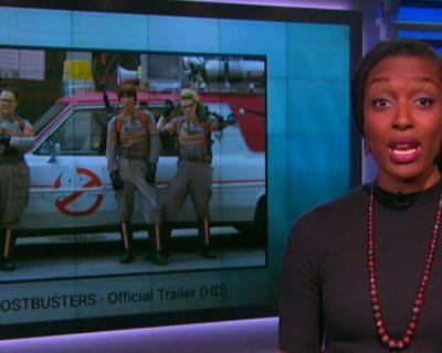 Elizabeth Banks WhoHaha-Sexist Backlash Ghostbusters