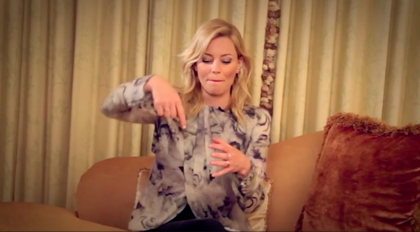 Really Important Questions with Elizabeth Banks: Piña Coladas