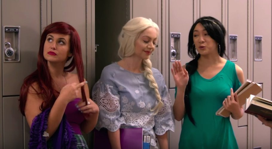 Women In Comedy: Disney Princesses Try To Flirt