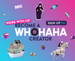 Become a WhoHaha creator