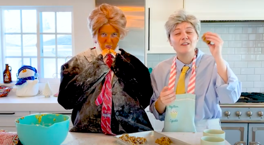 Holiday Cookies With Joe Biden and Donald Trump | A Political Christmas Parody